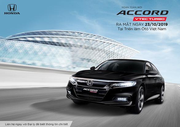 Honda Accord thế hệ thứ 10 ra mắt thị trường Việt Nam từ tháng 10-2019 - Ảnh 1.