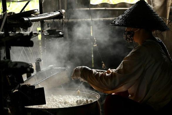 Làng tơ trăm năm ở Nam Định lên AFP - Ảnh 4.