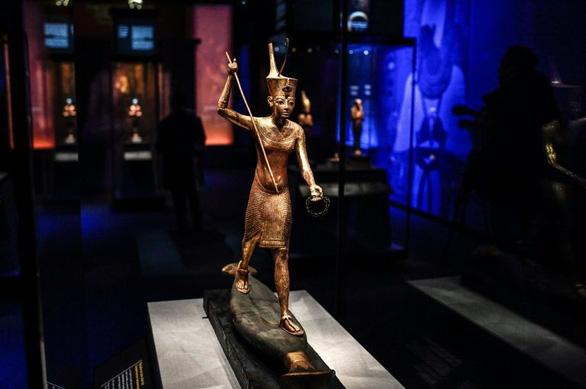 Triển lãm về vua Ai Cập có người xem kỷ lục mọi thời đại ở Paris  - Ảnh 3.
