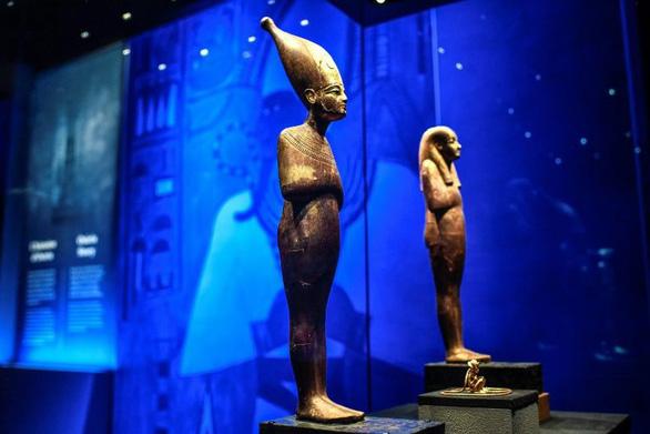 Triển lãm về vua Ai Cập có người xem kỷ lục mọi thời đại ở Paris  - Ảnh 1.