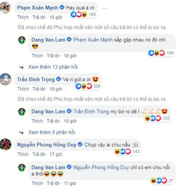 Văn Lâm khoe chiến tích trên Facebook và bảo chắc chắn không phải lần cuối - Ảnh 2.