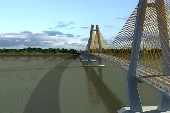 Cầu Mỹ Thuận 2 do Việt Nam thiết kế và xây dựng - Ảnh 1.