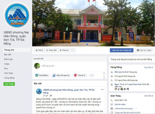Chính quyền giải quyết phản ánh của dân qua Facebook - Ảnh 1.