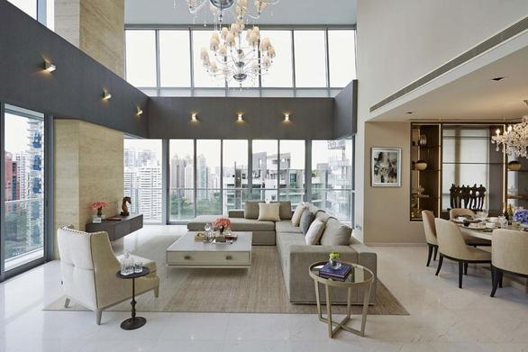 Những căn penthouse xa hoa của giới nhà giàu Singapore - Ảnh 3.