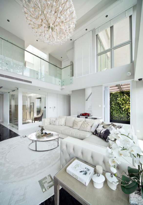 Những căn penthouse xa hoa của giới nhà giàu Singapore - Ảnh 4.