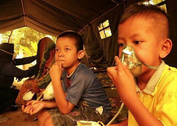 Cháy rừng ở Indonesia đe dọa sức khỏe 10 triệu trẻ em Đông Nam Á - Ảnh 1.