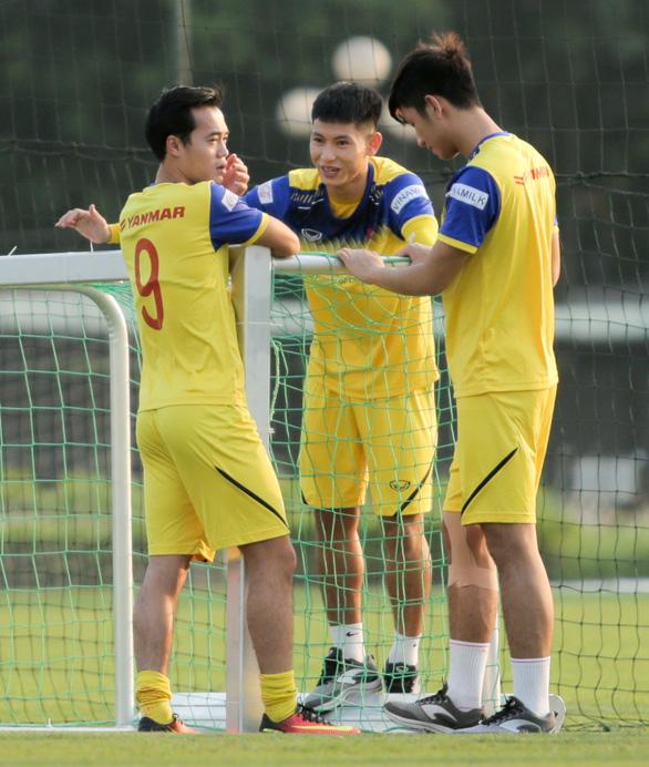 Tuyển Việt Nam đấu tập với đàn em U22 trước khi gặp Malaysia - Ảnh 2.