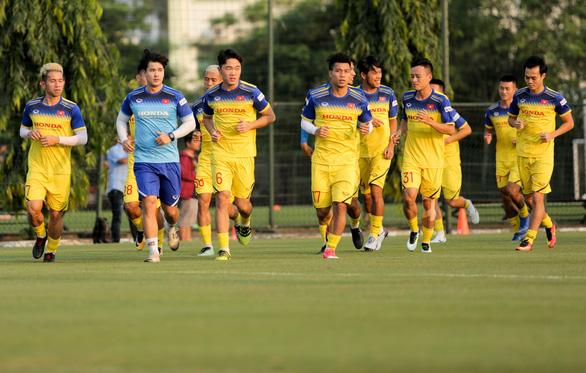 Tuyển Việt Nam đấu tập với đàn em U22 trước khi gặp Malaysia - Ảnh 1.