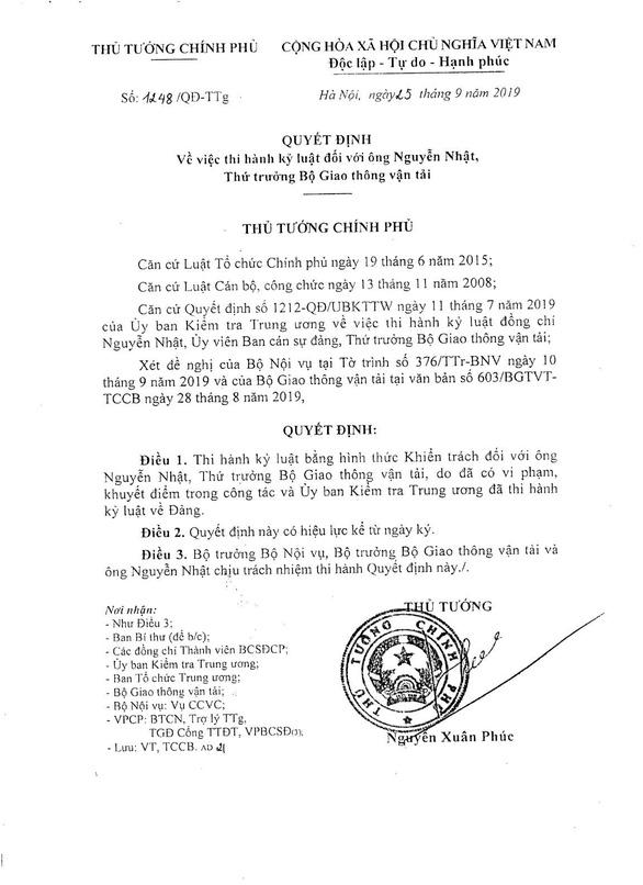 Kỷ luật ba thứ trưởng, một cựu thứ trưởng Bộ Giao thông vận tải - Ảnh 4.