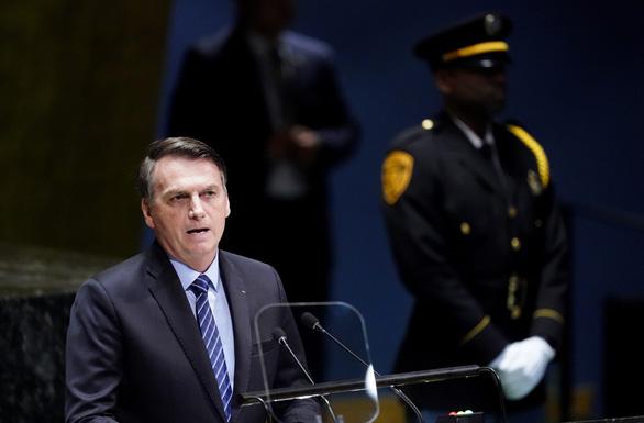 Tổng thống Brazil: Rừng Amazon chỉ là lá phổi của Brazil  - Ảnh 1.