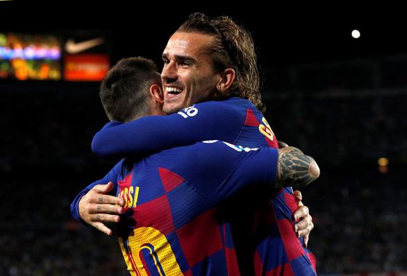 Griezmann ghi bàn, Messi chấn thương, Barca thắng chật vật Villarreal - Ảnh 1.