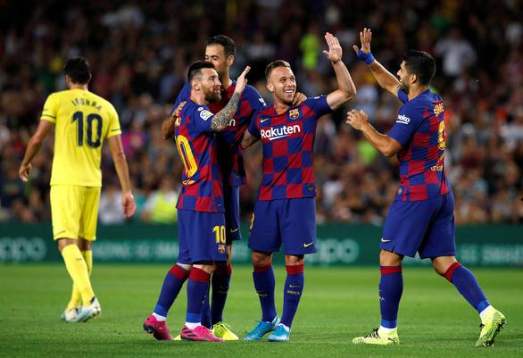 Griezmann ghi bàn, Messi chấn thương, Barca thắng chật vật Villarreal - Ảnh 2.