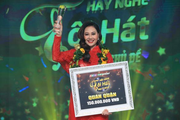 Hà Thúy Anh đoạt quán quân Hãy nghe tôi hát sau thời gian dài thi game show - Ảnh 1.