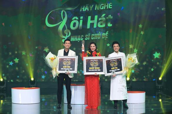 Hà Thúy Anh đoạt quán quân Hãy nghe tôi hát sau thời gian dài thi game show - Ảnh 5.