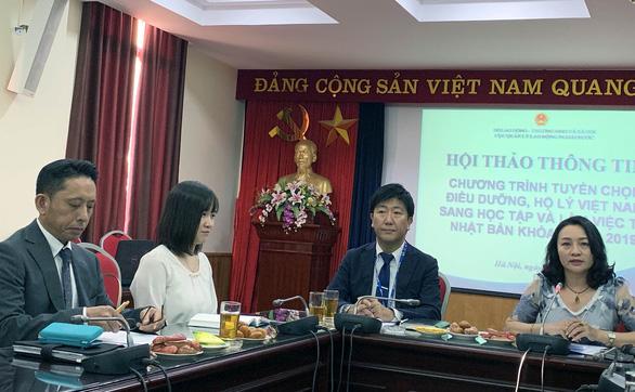 Nhật Bản 'khát' hộ lý, điều dưỡng viên Việt Nam - Ảnh 2.