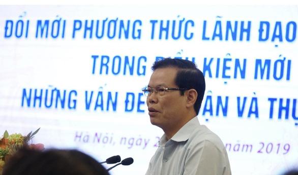 Ông Triệu Tài Vinh nói về chuyện 'cả nhà làm quan' và tiêu cực thi cử - Ảnh 1.