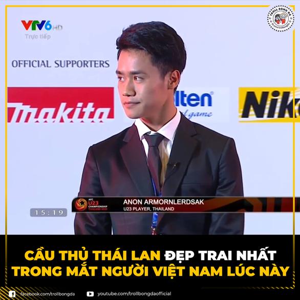 Đội trưởng U23 Thái được khen đẹp trai vì... bốc thăm dễ thở cho Việt Nam - Ảnh 3.