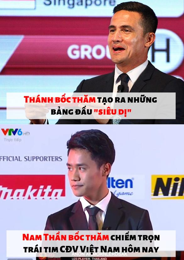 Đội trưởng U23 Thái được khen đẹp trai vì... bốc thăm dễ thở cho Việt Nam - Ảnh 6.