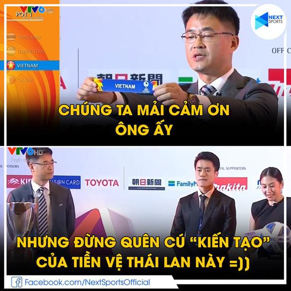 Đội trưởng U23 Thái được khen đẹp trai vì... bốc thăm dễ thở cho Việt Nam - Ảnh 4.