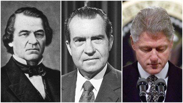 Những lần luận tội tổng thống thót tim trong lịch sử Mỹ - Ảnh 1.