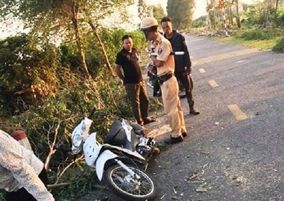 Cưa cây đổ trúng hai nữ sinh, một người chết ở bệnh viện  - Ảnh 1.