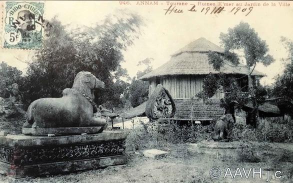 Cổ viện Chàm - Những chuyện chưa biết - Kỳ 1: Vườn tập kết và bảo tàng sớm nhất - Ảnh 1.