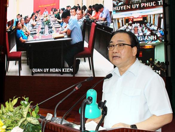 Bí thư Hà Nội Hoàng Trung Hải: 'Còn 660 chung cư, cơ sở vi phạm phòng cháy' - Ảnh 1.