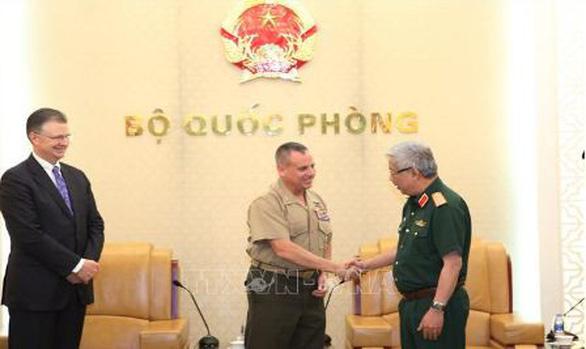 Việt Nam - Hoa Kỳ tham vấn quốc phòng - Ảnh 1.