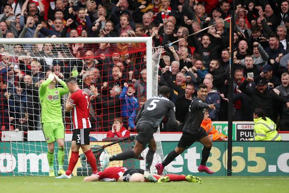 Liverpool thắng may mắn đội mới lên hạng Sheffield United - Ảnh 1.