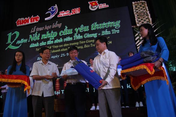 86 suất học bổng đến với tân sinh viên khó khăn Bến Tre, Tiền Giang - Ảnh 5.
