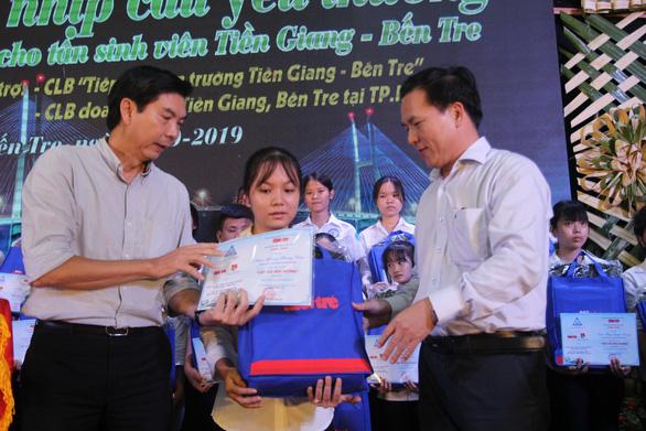 86 suất học bổng đến với tân sinh viên khó khăn Bến Tre, Tiền Giang - Ảnh 7.