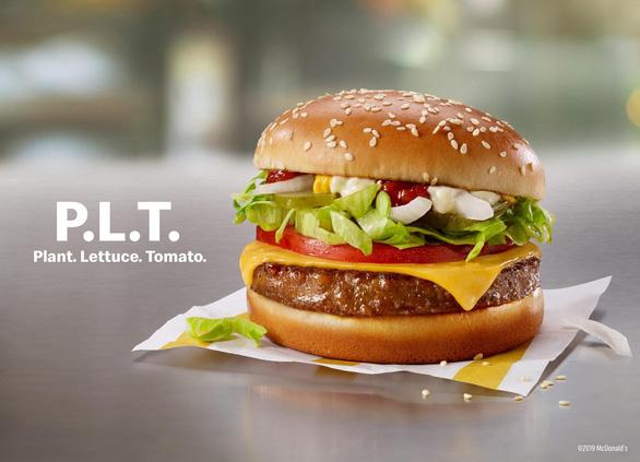 Giới fast-food chạy đua làm bánh burger chay - Ảnh 1.