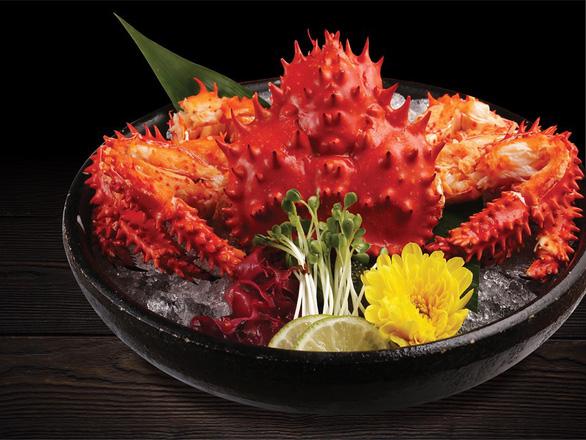 Cùng thực khách sành ăn thưởng thức cua Hanasaki - Món ngon trong mùa Nhật Bản - Ảnh 3.