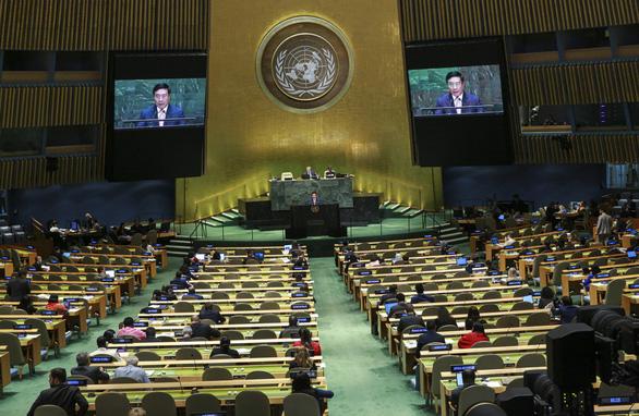 Phó thủ tướng Phạm Bình Minh nói về chủ nghĩa đa phương trong 15 phút tại LHQ - Ảnh 1.