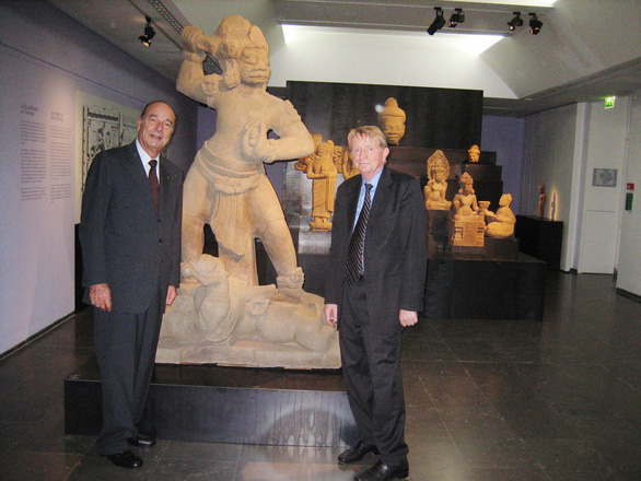 Trăm năm cổ viện Chàm - những chuyện chưa biết - Kỳ 4: Cổ vật đi ngoại giao - Ảnh 3.