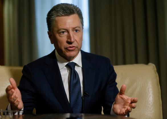 Giới chính trị Ukraine gọi việc đặc phái viên Mỹ từ chức là mất mát thật sự - Ảnh 1.