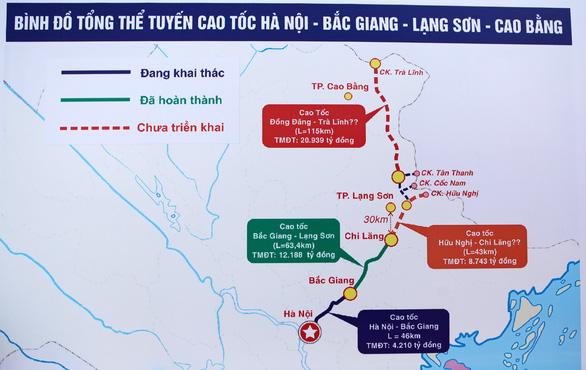 Thông xe đoạn Bắc Giang - Chi Lăng của đường cao tốc Bắc Giang - Lạng Sơn - Ảnh 5.