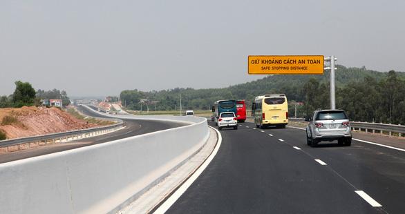 Thông xe đoạn Bắc Giang - Chi Lăng của đường cao tốc Bắc Giang - Lạng Sơn - Ảnh 4.