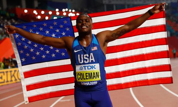 Kế nhiệm Usain Bolt, Christian Coleman trở thành người chạy nhanh nhất thế giới - Ảnh 2.