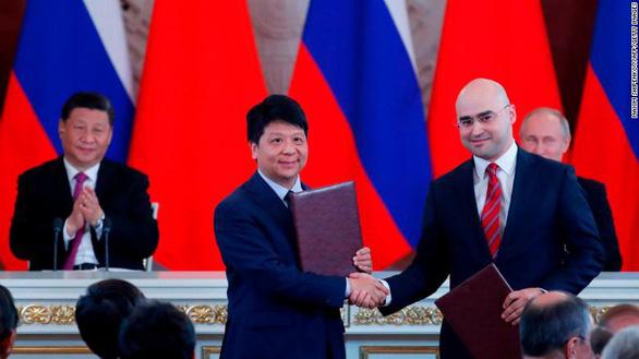 Huawei thử nghiệm 5G tại Nga - Ảnh 1.