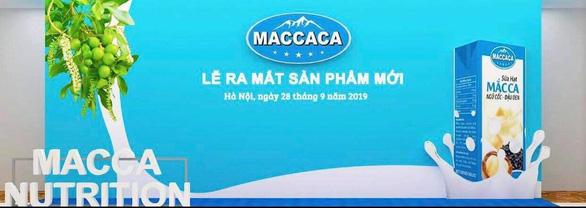 Ra mắt sữa hạt Macca Milk made in Vietnam - Ảnh 1.