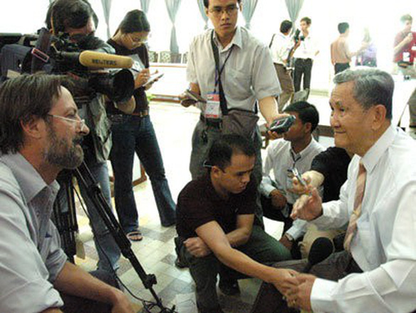 Người cùng Tổng thống Dương Văn Minh kêu gọi lính miền Nam buông súng đã qua đời - Ảnh 2.