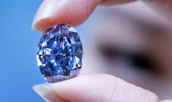 Bí ẩn viên kim cương xanh bị đánh cắp của ông hoàng Saudi - Ảnh 1.