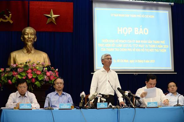 Ngày 6-10: HĐND TP.HCM họp bất thường về Thủ Thiêm - Ảnh 2.