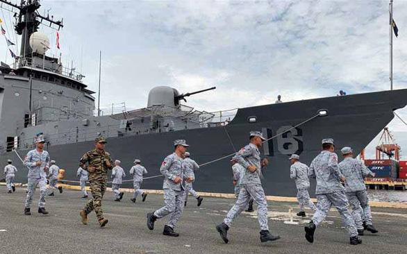 Thấy gì từ diễn tập hàng hải đầu tiên Mỹ - ASEAN? - Ảnh 1.