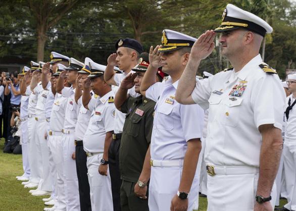 Tướng Mỹ: Việt Nam rất chuyên nghiệp trong diễn tập hải quân - Ảnh 1.
