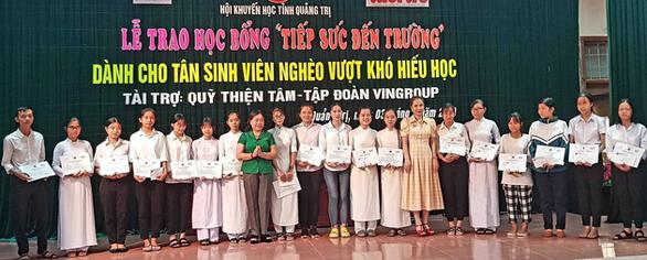 Thêm 52 suất học bổng cho tân sinh viên nghèo Quảng Trị - Ảnh 1.