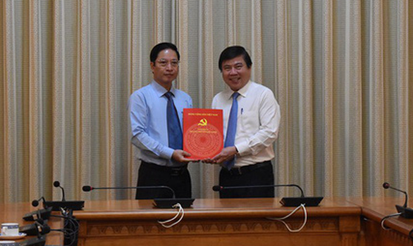 Bổ nhiệm ông Đặng Minh Đạt làm chánh Thanh tra TP.HCM - Ảnh 1.
