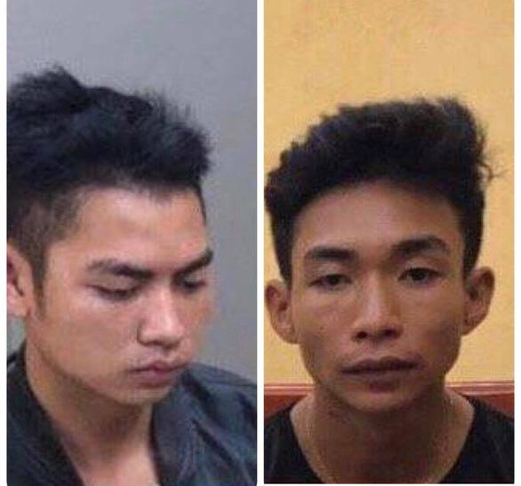 Từ hình ảnh trong tin nhắn, bắt 2 thanh niên nghi giết nam sinh chạy Grab - Ảnh 1.