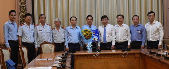 Bổ nhiệm ông Đặng Minh Đạt làm chánh Thanh tra TP.HCM - Ảnh 2.